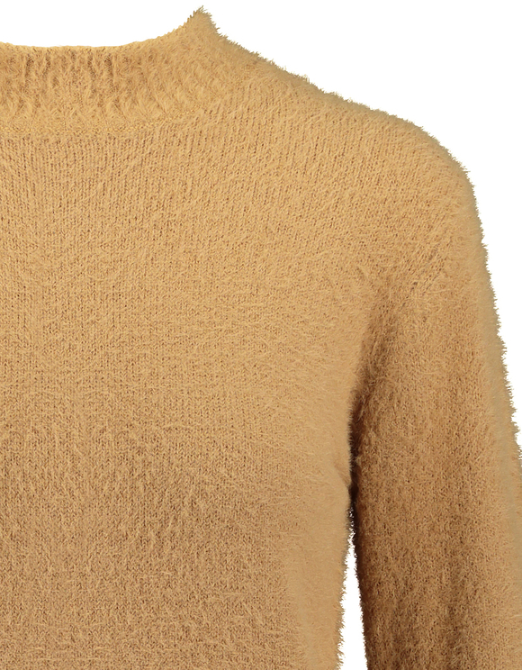 Beige Fluffy Jumper