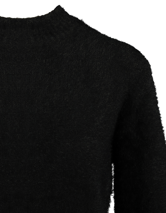 Black Fluffy Jumper