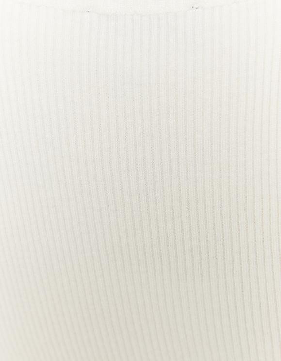 Top Bianco in Maglia