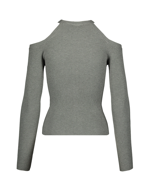 Grey Twisted Jumper