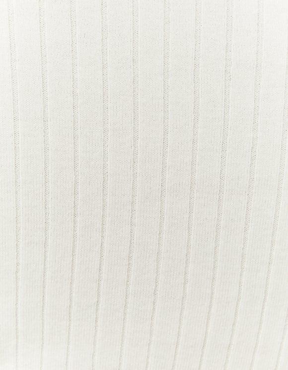 Pull Blanc Col V
