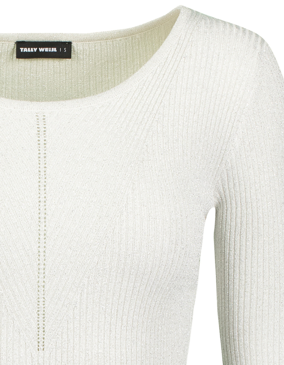 Grey Lurex Jumper