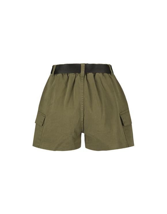 Khaki Cargo Shorts
