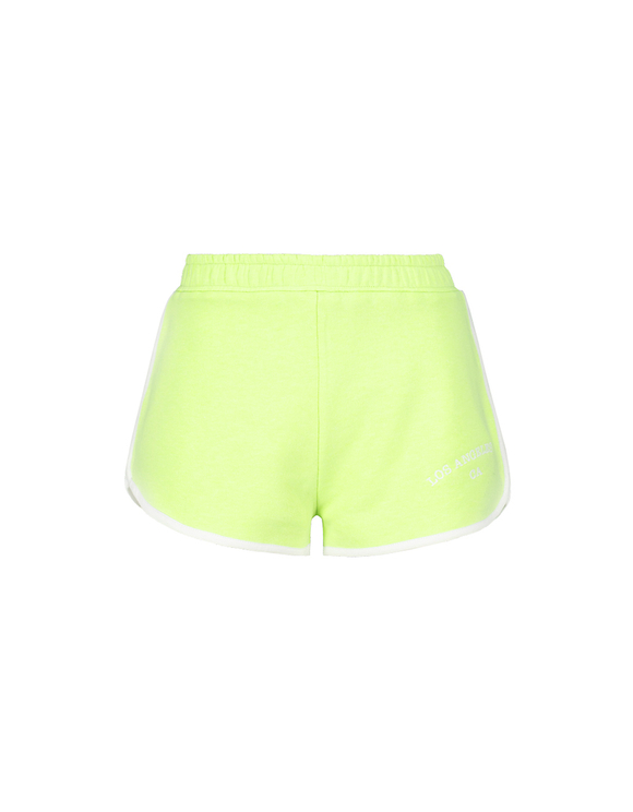 Neon Green Sweat Shorts