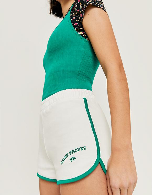 White Sweat Shorts