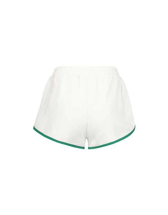 Short en Molleton Blanc