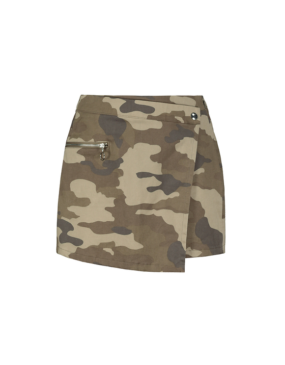 Jupe Short Camouflage