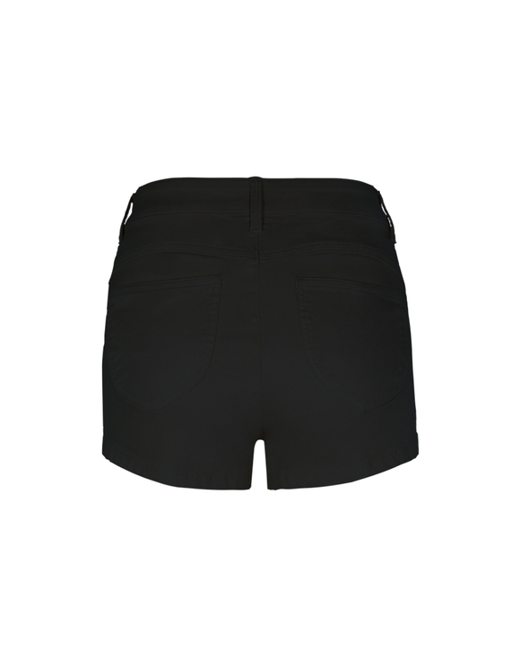 Schwarze Push-Up Shorts