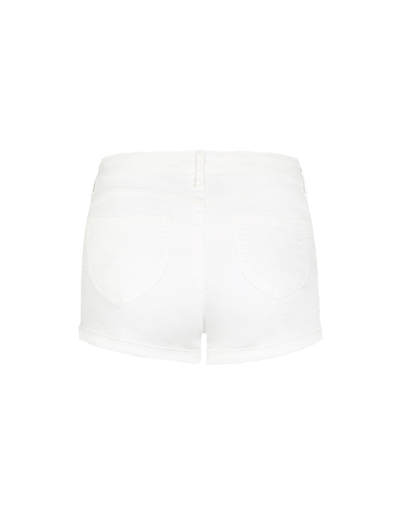 Weiße Push-Up Shorts