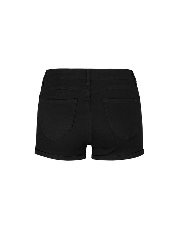 Black Push Up Shorts