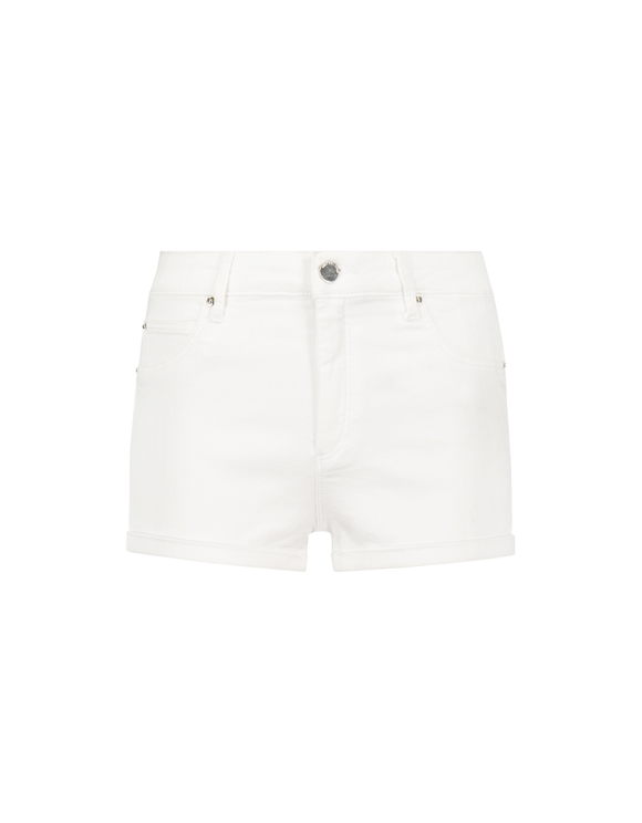 White Push Up Shorts