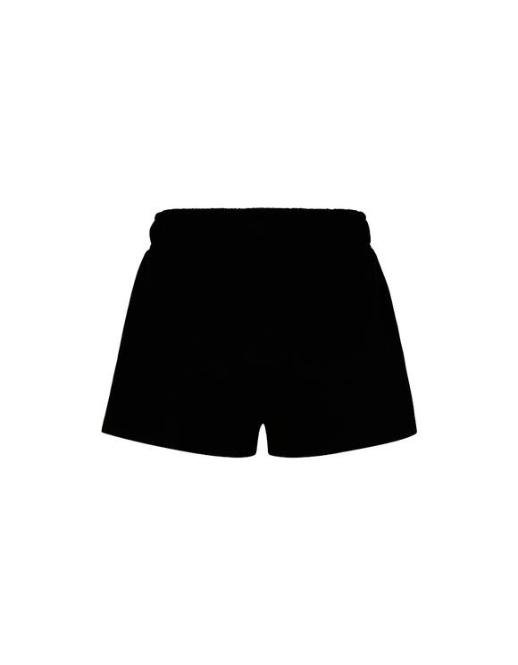 Short Noir à Bandes Latérales