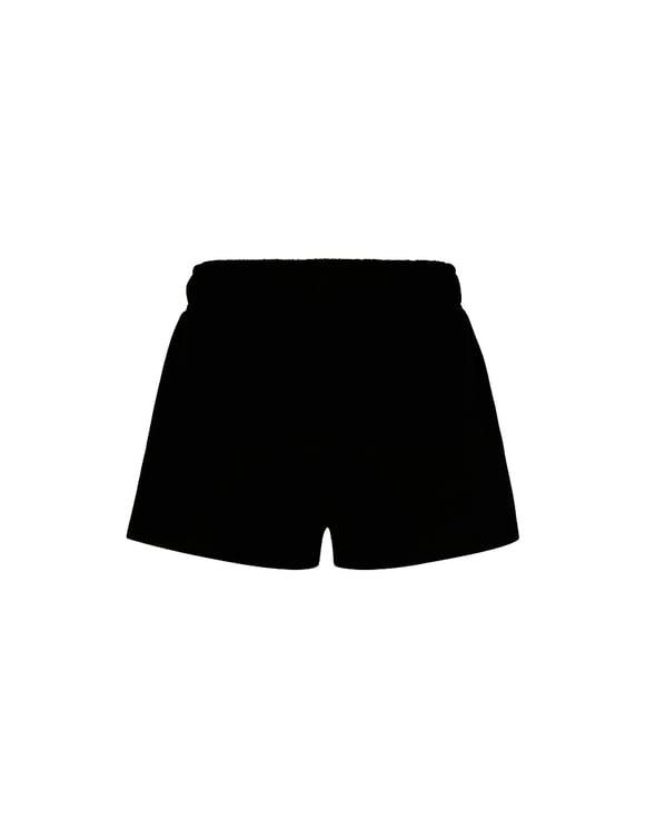 Short en Molleton Noir