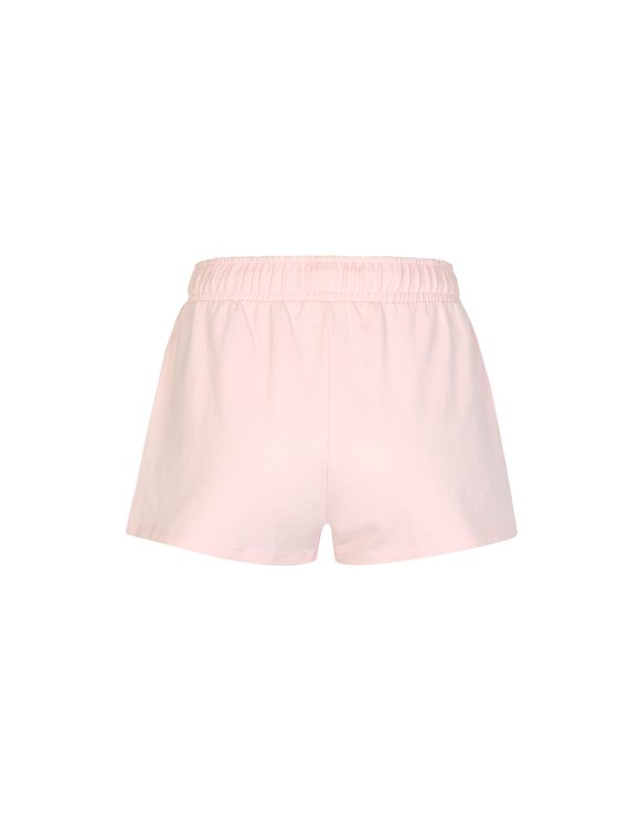 Pink Short with Side Stripes