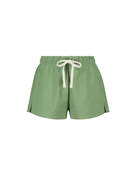 Green Sweat Shorts