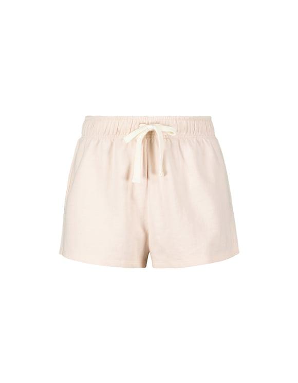 Light Pink Molleton Shorts