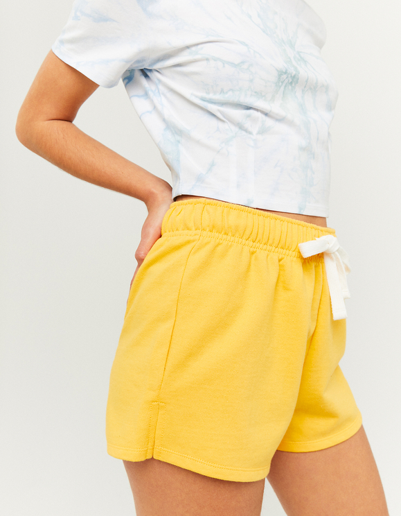 Short en Molleton Jaune