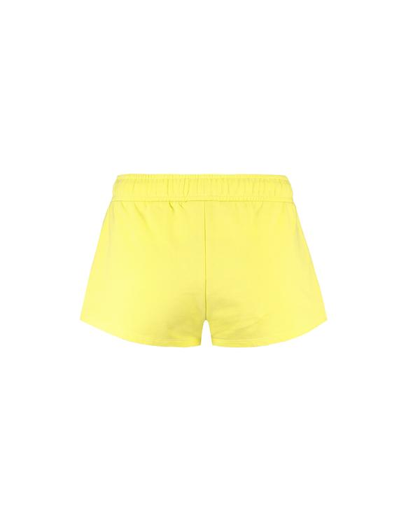 Helle Grüne Shorts mit Seitenstreifen