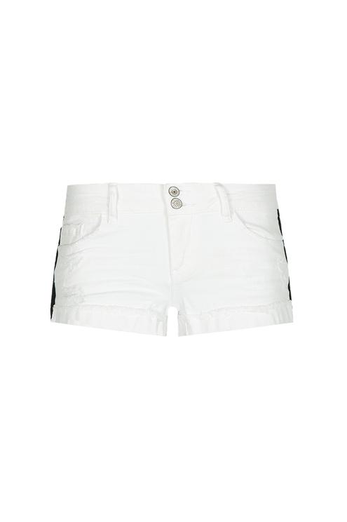 White Mini Shorts