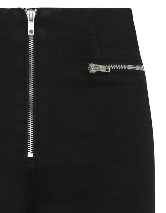 Short Noir à Zip