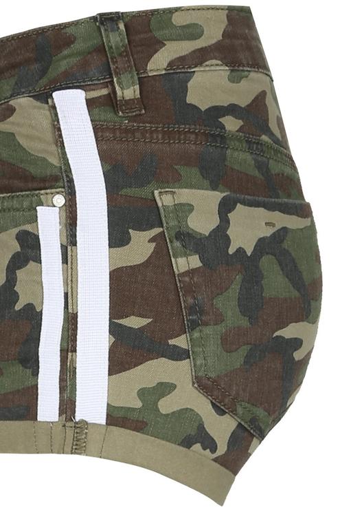 Camouflage Mini Shorts