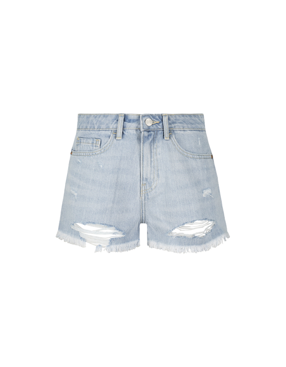 Light Blue Destroy Shorts