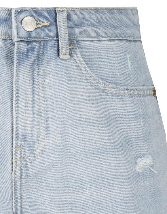 Light Blue Destroy Shorts