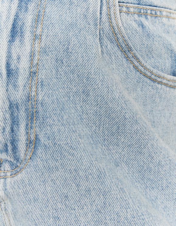 Light Wash Denim Shorts