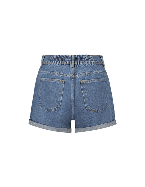 Jeansowe szorty Mom z wysokim stanem