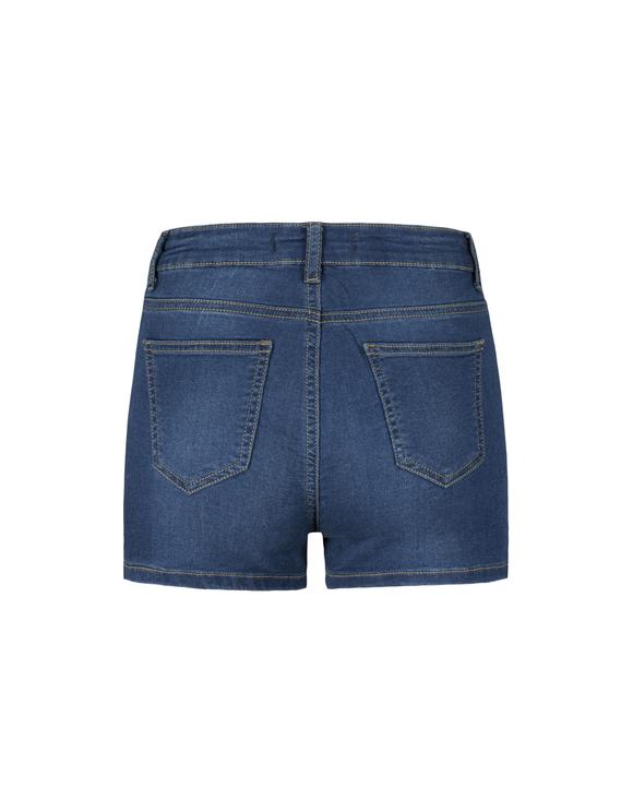 Jeansowe szorty Skinny z wysokim stanem