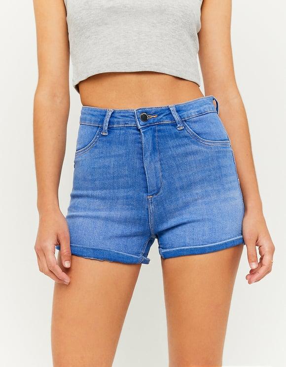 Short Skinny Push-Up Taille Haute