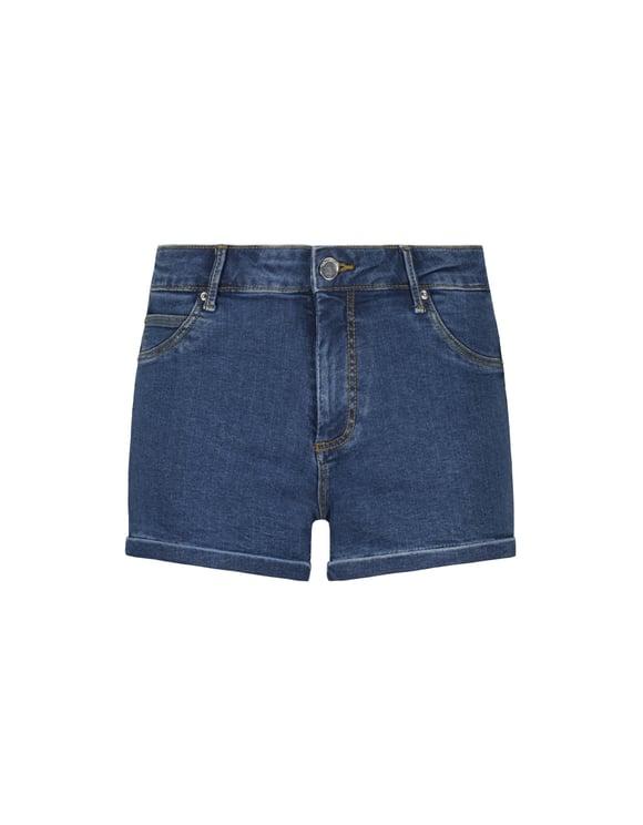 Denim Push-Up Shorts