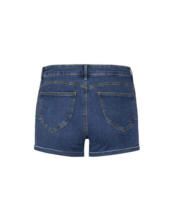 Push-Up Denim Shorts
