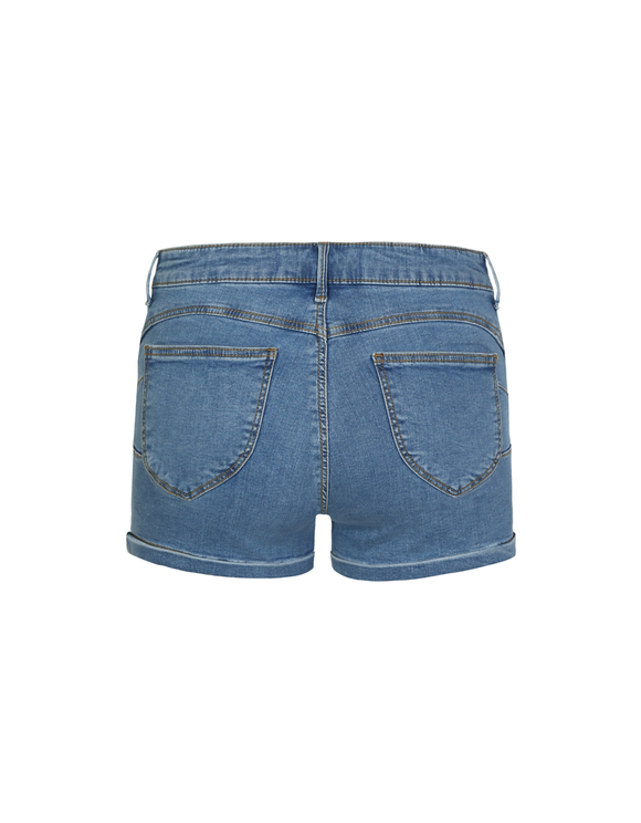 Denim Push Up Shorts