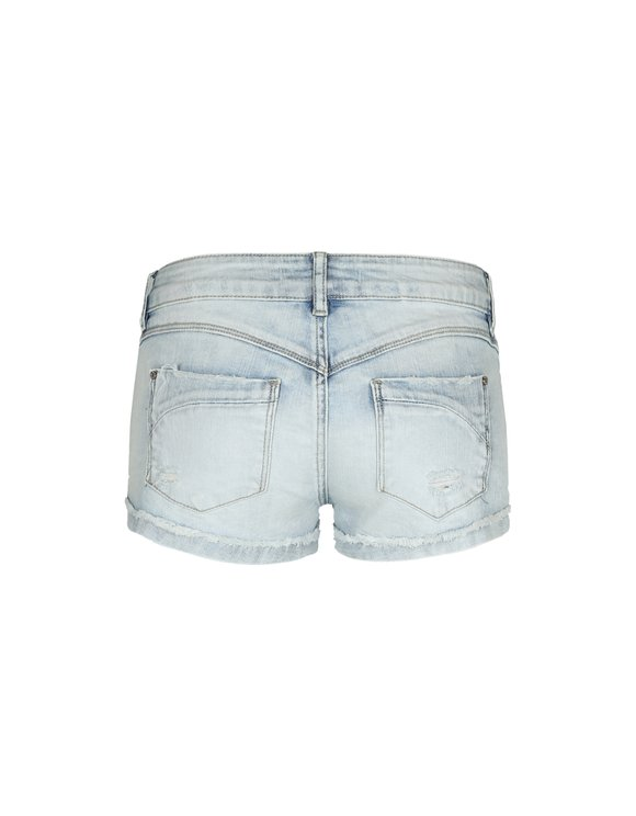Light Blue Mini Shorts