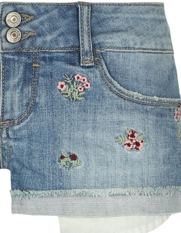 Denim Mini Shorts