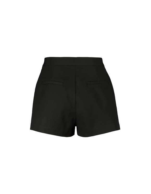 Black Tailored Shorts