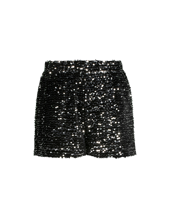Short Argenté en Sequins