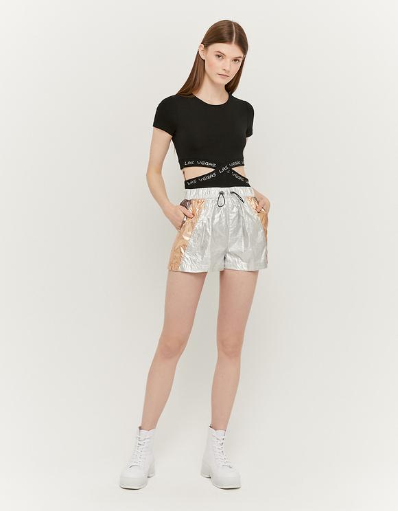 Grey Sporty Shorts