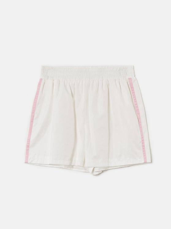 Short de Sport Blanc