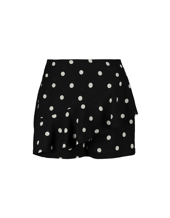 Polka Dots Skort with Ruffles