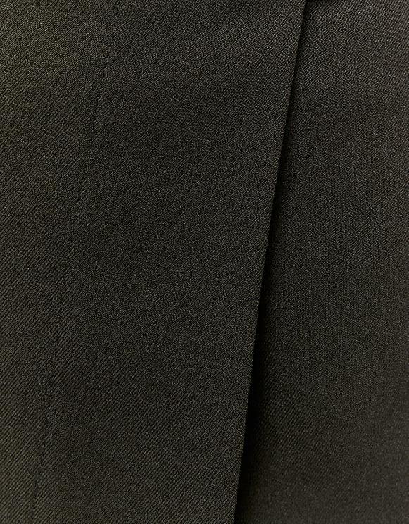 Black Buckled Skort