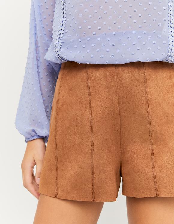 Suedette Shorts