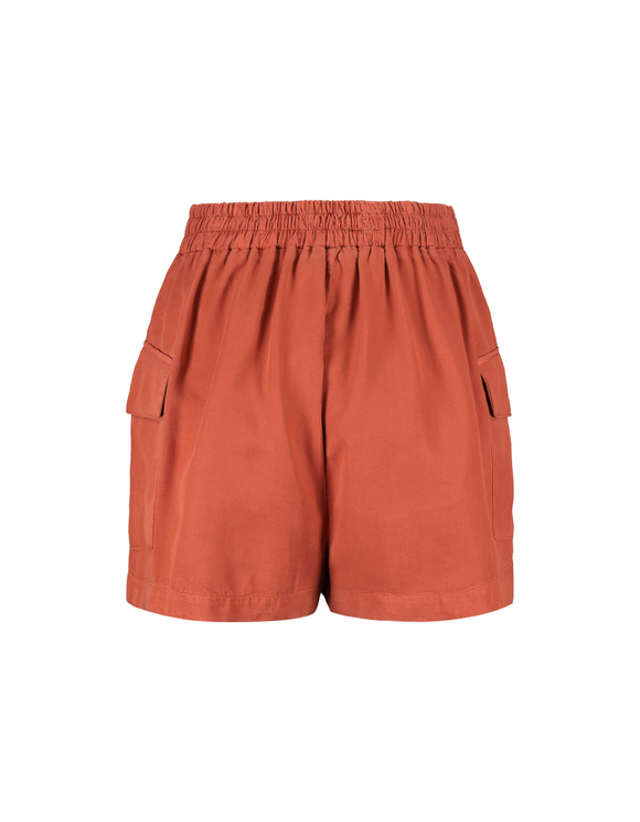 Cargo Shorts with Drawstring