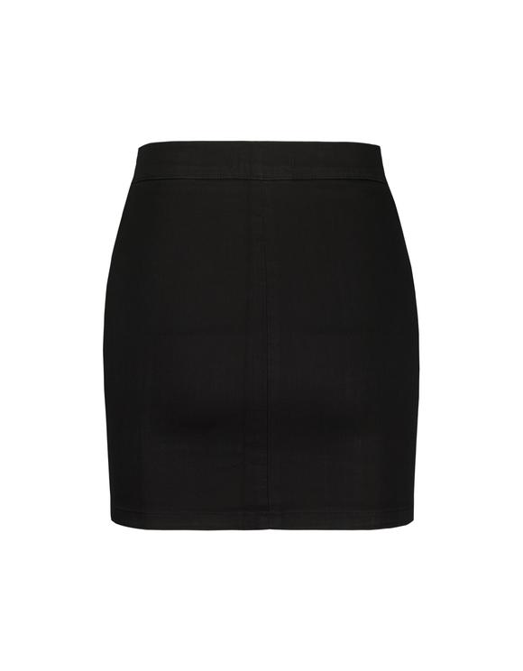 Jupe Noire Zippée