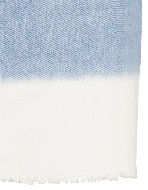 Tie & Dye Denim Skirt