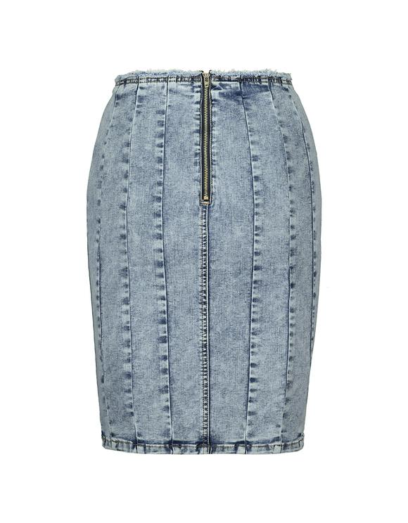 Denim Corset Skirt
