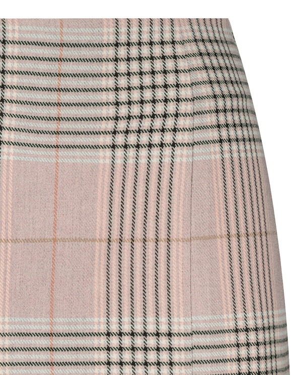 Check Mini Skirt
