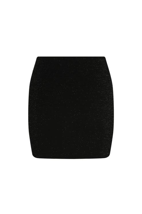 Zip Front Mini Skirt