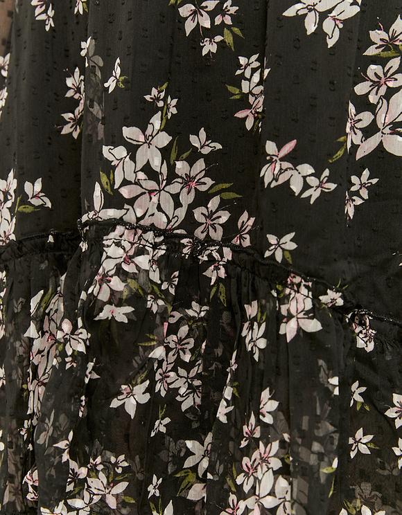 Jupe Longue Imprimé Floral